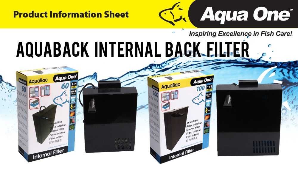AquaBac Internal Filter