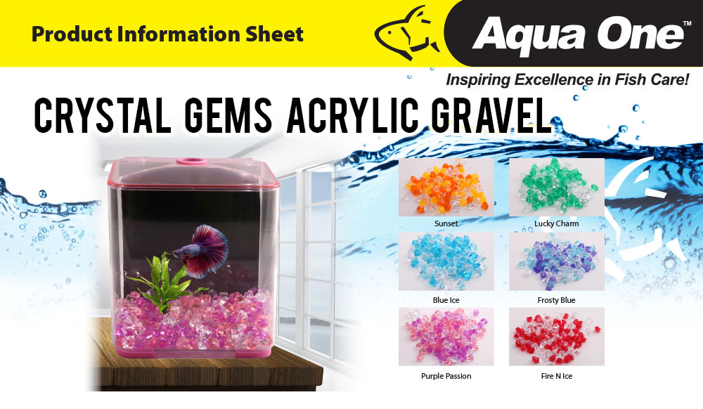 Crystal Gems Acrylic Gravel