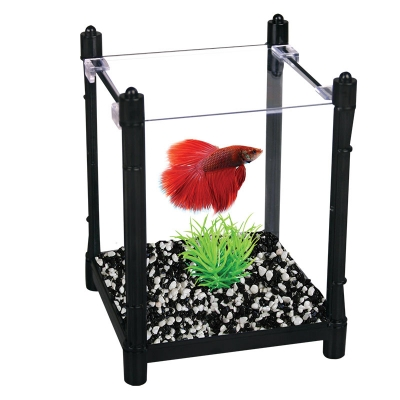 Betta Kit BettaBloc Stackable 1L Black