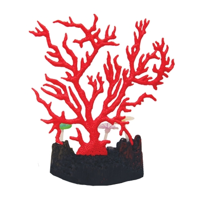Copi Coral Red Gorgonian with Sea Lilies