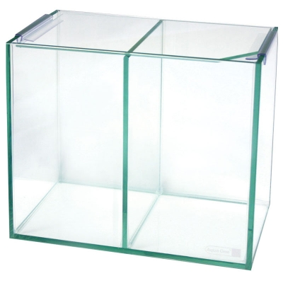 Betta Duo Cube Glass W/Lid 24x12x20cm H