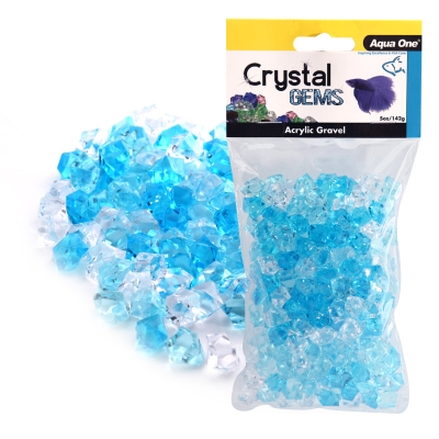 Blue Ice Acrylic Crystal Gems