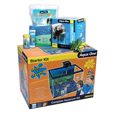 Splish & Splash Starter Kit Medium 21L Glass