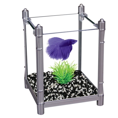Betta Kit BettaBloc Stackable 1L Silver