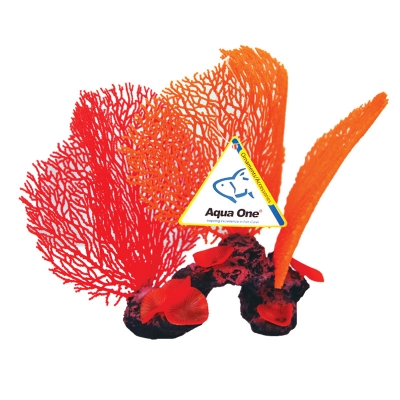 Copi Coral Red and Orange Sea Fans