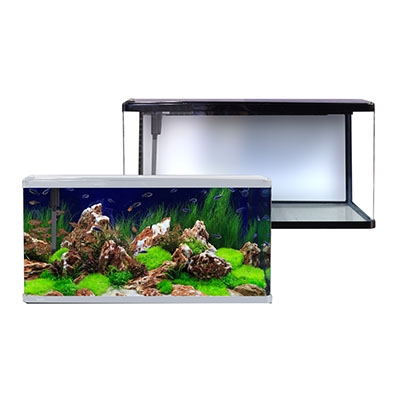 LifeStyle 190 Complete Glass Aquarium