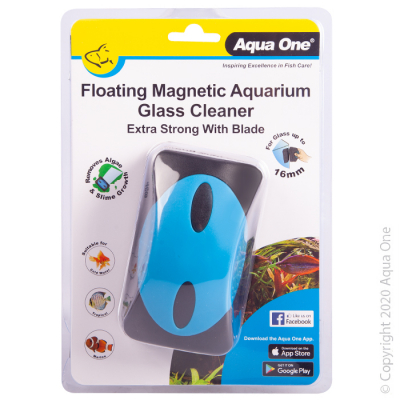 Floating Magnet Aquarium Glass Cleaner with Blade