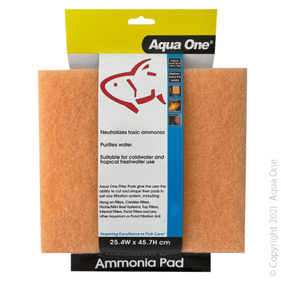 Ammonia Pad - Self Cut Filter Pad