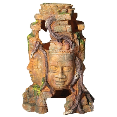 4 Faced Aztec Statue