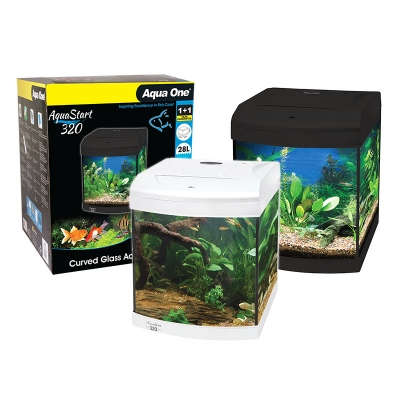 AquaStart 320 - 28L Glass Aquarium