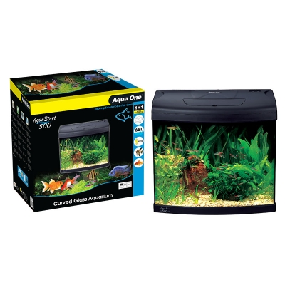 AquaStart 500 - 65L Glass Aquarium